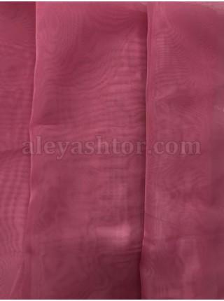 Тюль розовый шифон T2P