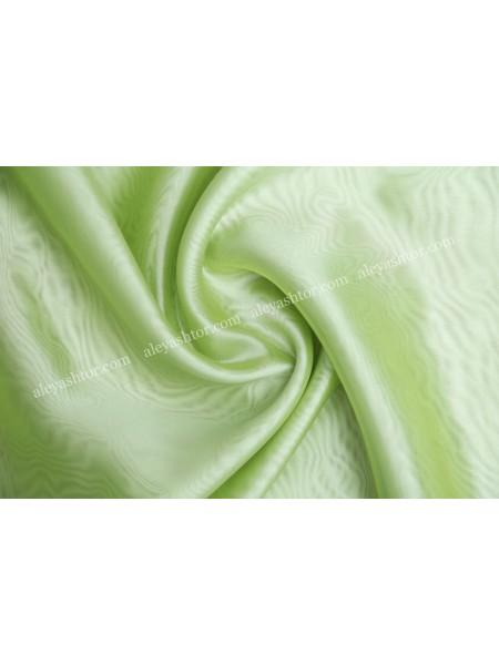 Тюль кристалон зелёного цвета T450HH