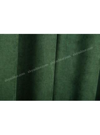 Шторы изумрудно-зелёного(12) цвета из микровельвета Diamond BB18H1