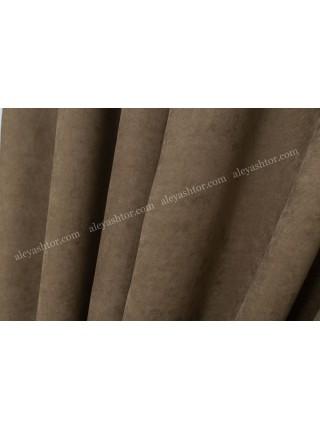 Шторы коричневого(5) цвета из микровельвета Diamond BB27B1