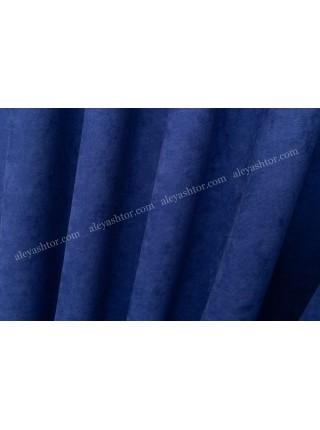 Шторы синего цвета(17) из микровельвета Diamond BB36SS