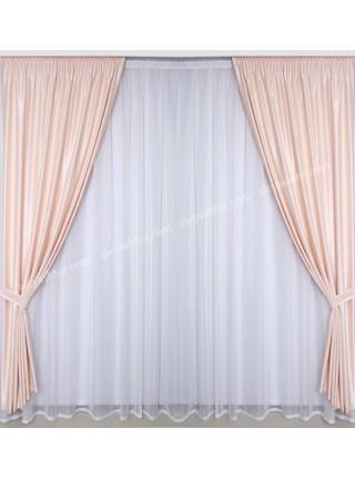 Комплект штор из софта Симфония S06N
