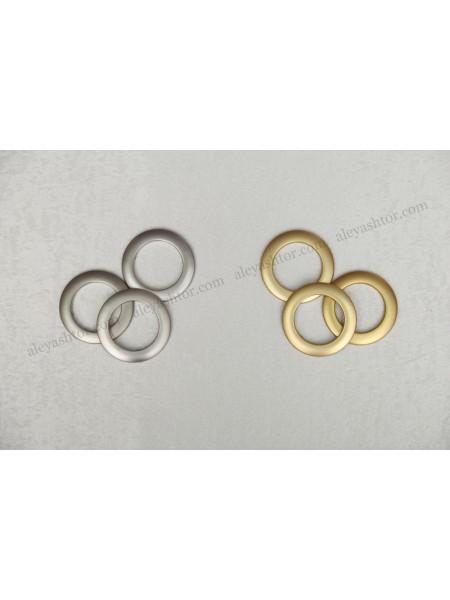 Люверсы матовые в золотом и серебрянном цвете Люверсы U02